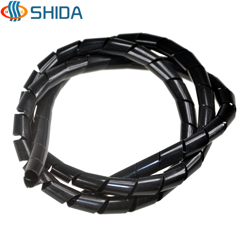 Hot sale Free Shipping 10mm * 20m Spiral Cable Wire Tidy Wrap Band ...