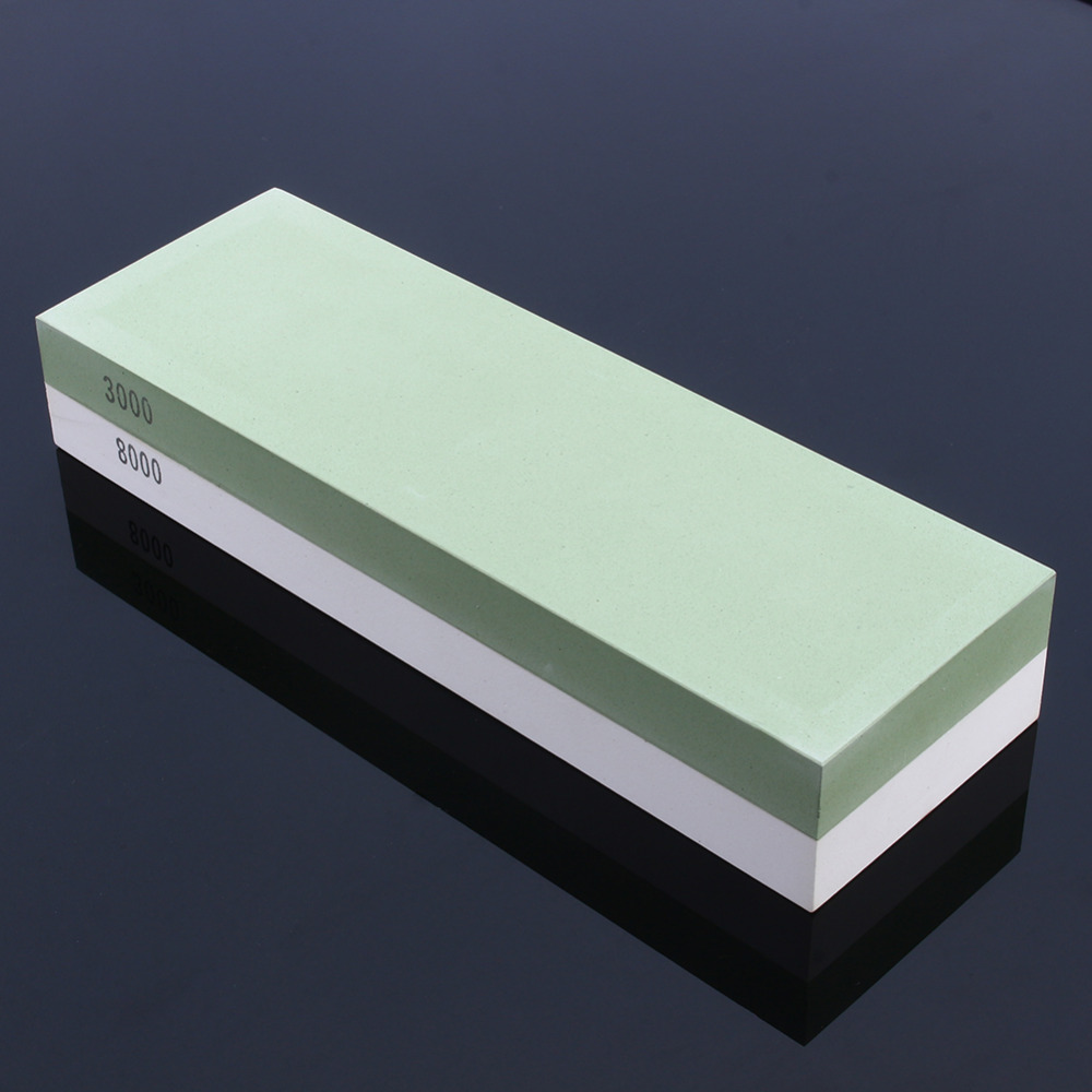 3000&8000 Grit White Corundum Whetstone Knife Sharpening Stone Kitchen Knife Sharpener for Knives  цены