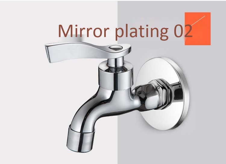 high quality Quick opening faucets Single cold tap Pool faucet solid brass llave fregadero cocina grifos dropshipping in Kitchen Faucets from Home Improvement