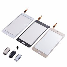 Untuk Samsung Galaxy J2 Prime SM-G532F G532 Touch Screen Digitizer Depan Kaca Panel + Tombol Home Kembali Kunci Keypad(China)