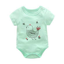f8d3c1766 Cartoon Body for Newborns Baby Unisex Bodysuits Jumpsuits Casual Long  Sleeve Infant Cute Cotton Body Tops
