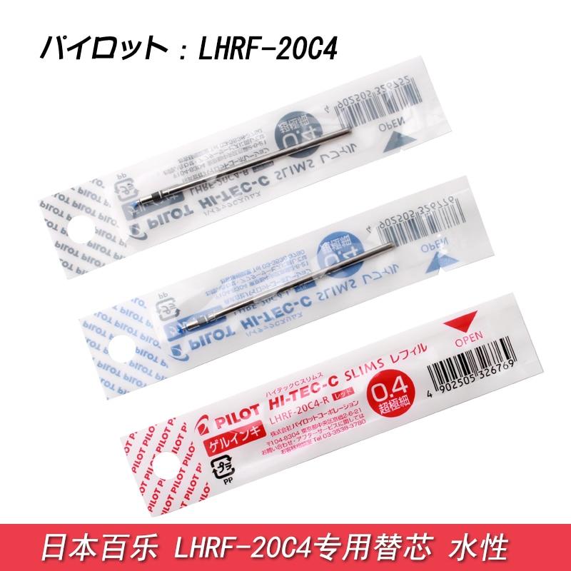 Pilot Hi-Tec-C Slims Gel Multi Pen Refill - 0.4 mm-Black/Blue/Red 5pcs/lot LHRF-20C4 Writing Supplies гарнитура hi fun hi head blue red