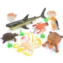 Sea Animal Model Cute Marine Toys Shark for Kids Gift