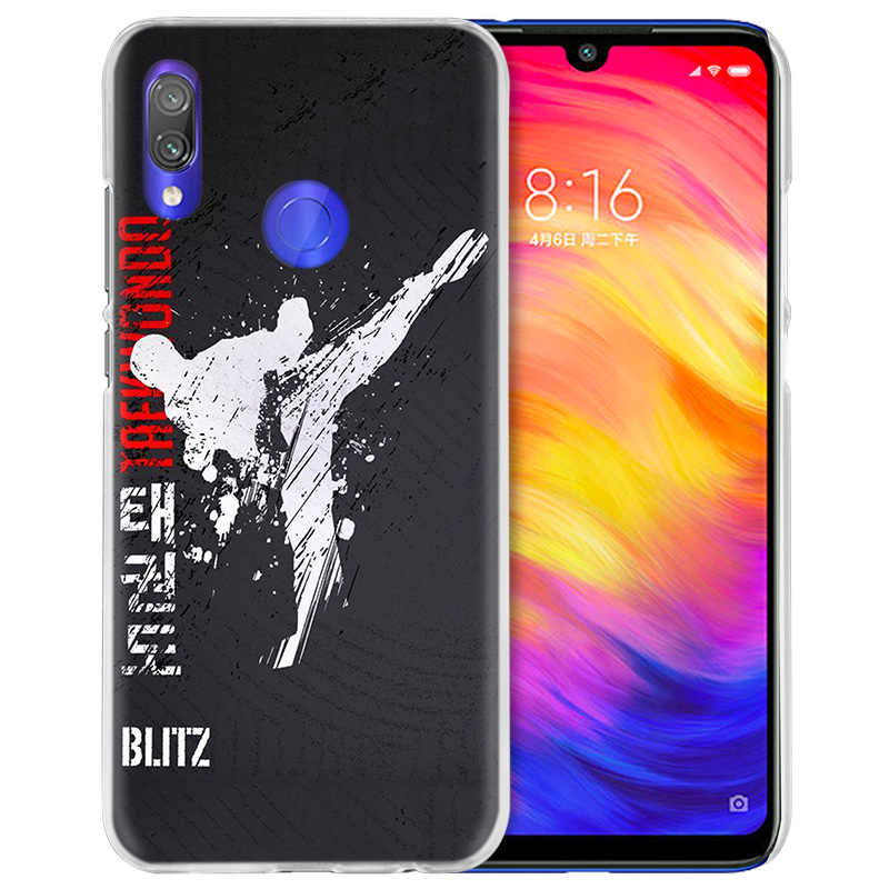 Judo Taekwondo per il Caso di Xiaomi Redmi Nota Nota 8 8T 7 9S 9 K30 Pro Zoom Mi 9T 10 Lite 5G X2 F1 Dura del PC Del Telefono Coque Copertura