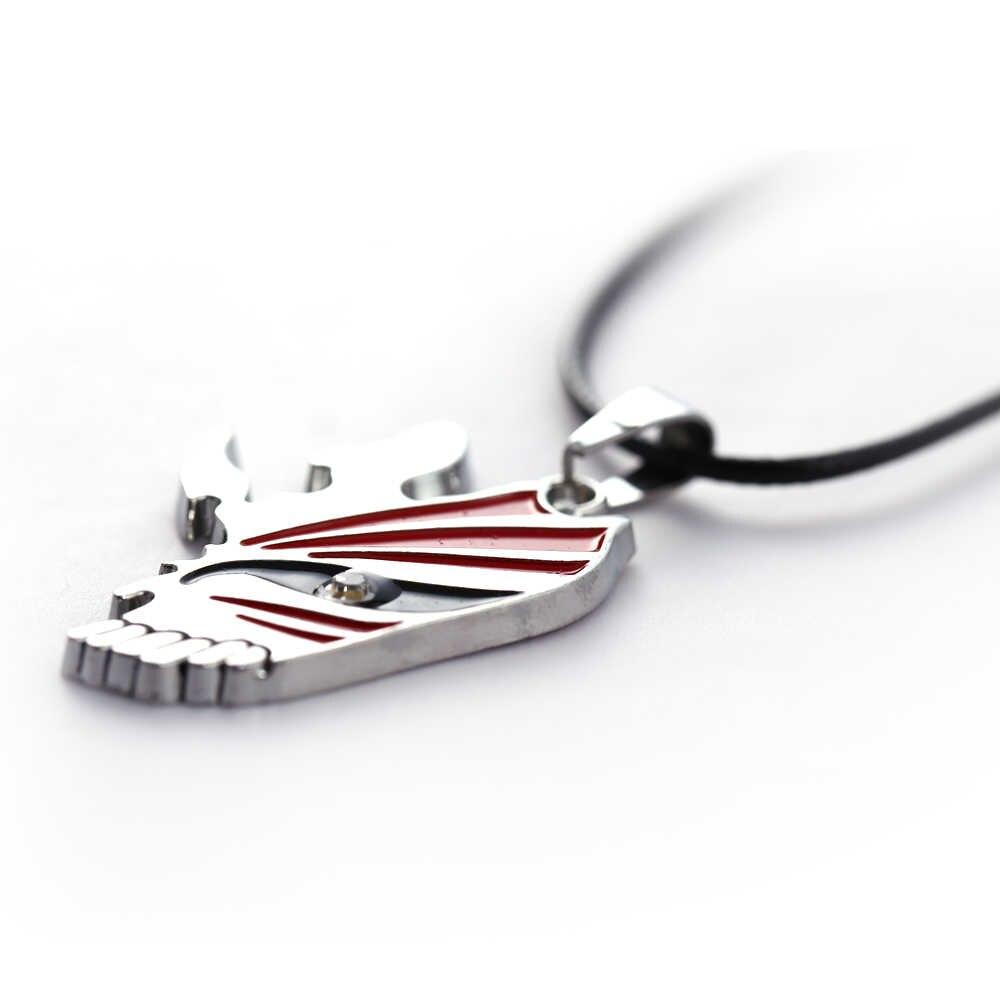 حار أنيمي العصرية بيان الموضة تصميم جديد الشرير التبييض قناع المينا قلادة تأثيري مجوهرات الأزياء 11142