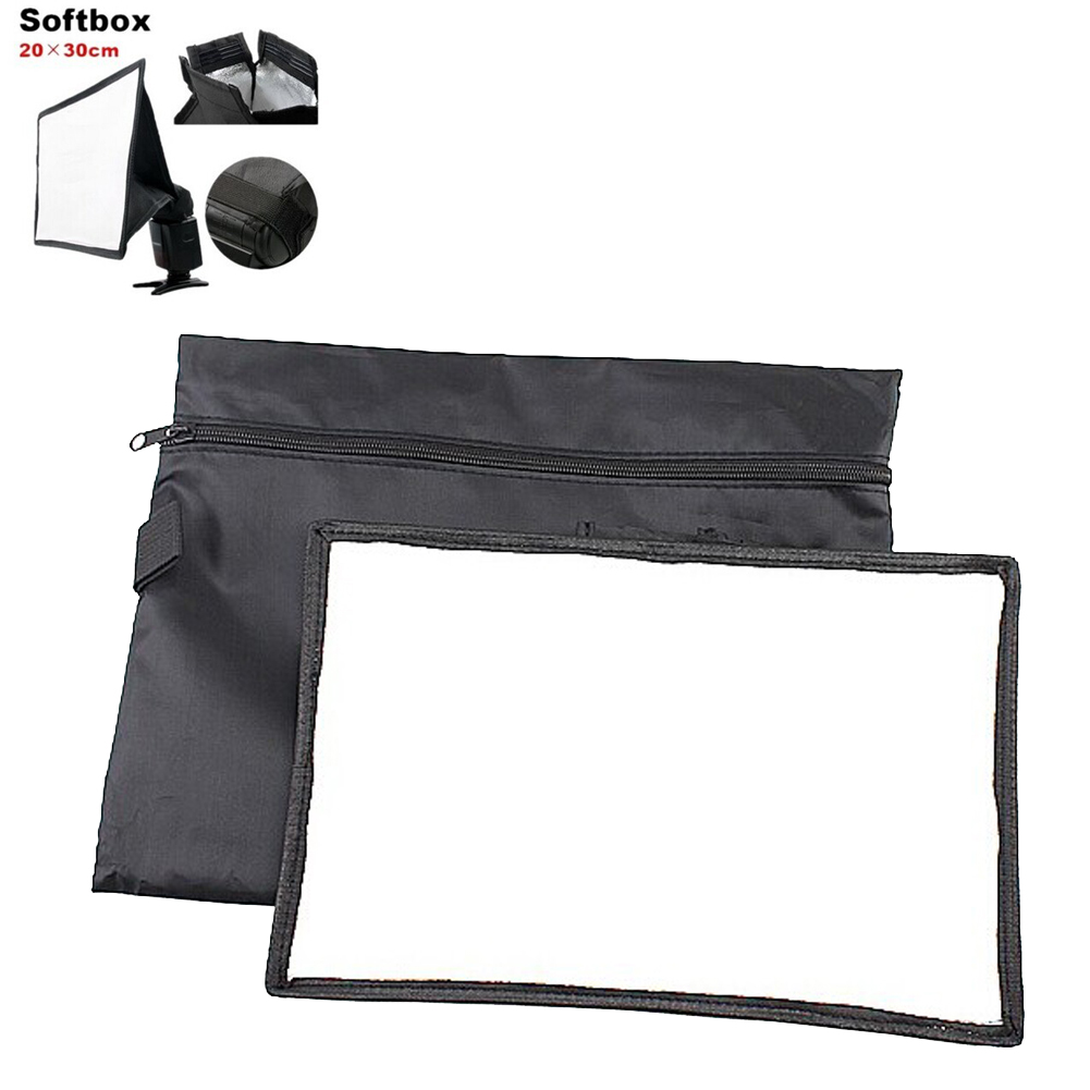how to connect softbox to camera