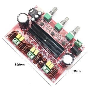 Image 4 - Lusya TPA3116D2 2.1 قوة مكبر الصوت 80 واط * 2 + 100 واط مضخم الصوت الرقمي مضخم الصوت ل 4 8 أوم المتكلم D3 005