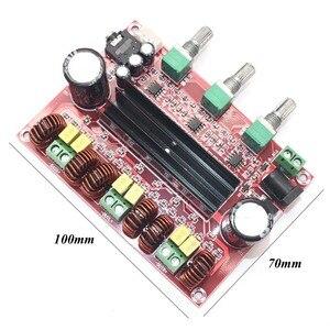 Image 4 - Lusya TPA3116D2 2.1電源amplificador 80ワット * 2 100wサブウーファー · オーディオ · アンプ用4 8オームスピーカーD3 005