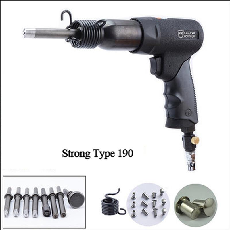 Air Pneumatic Tools High-power Traffic Signage Advertising Nameplate Pneumatic Rivet Gun Semi-hollow/solid Rivet Gun