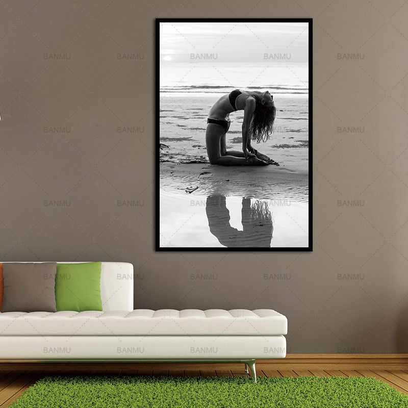 Picture art print Canvas painting  Wall Picture print  home decor  Black and white picture Wall art print for living room