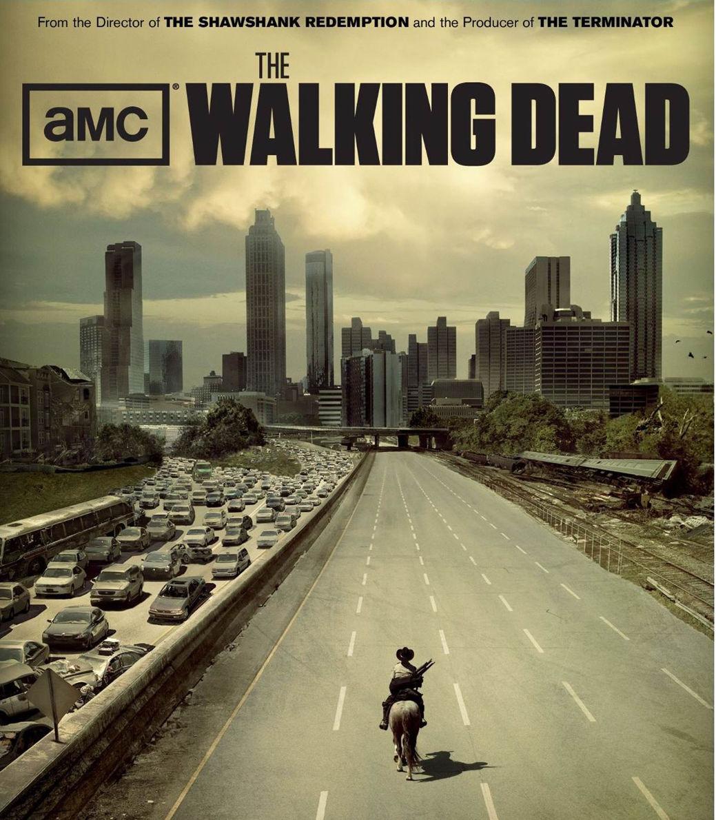"The Walking Dead <font><b>1</b></font> 2 <font><b>3</b></font> <font><b>4</b></font> TV Zombie Fabric Poster <font><b>16</b></font>"" <font><b>x</b></font> 13"" Decor <font><b>26</b></font>"