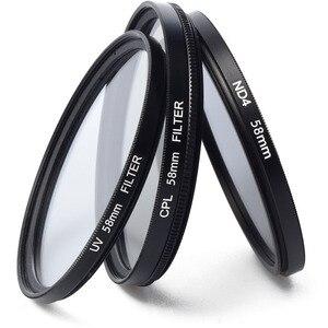 Image 3 - Etui en cuir 9 en 1 + filtre + pare soleil + stylo de nettoyage + protecteur de verre pour appareil photo numérique Nikon CoolPix P900 P900s