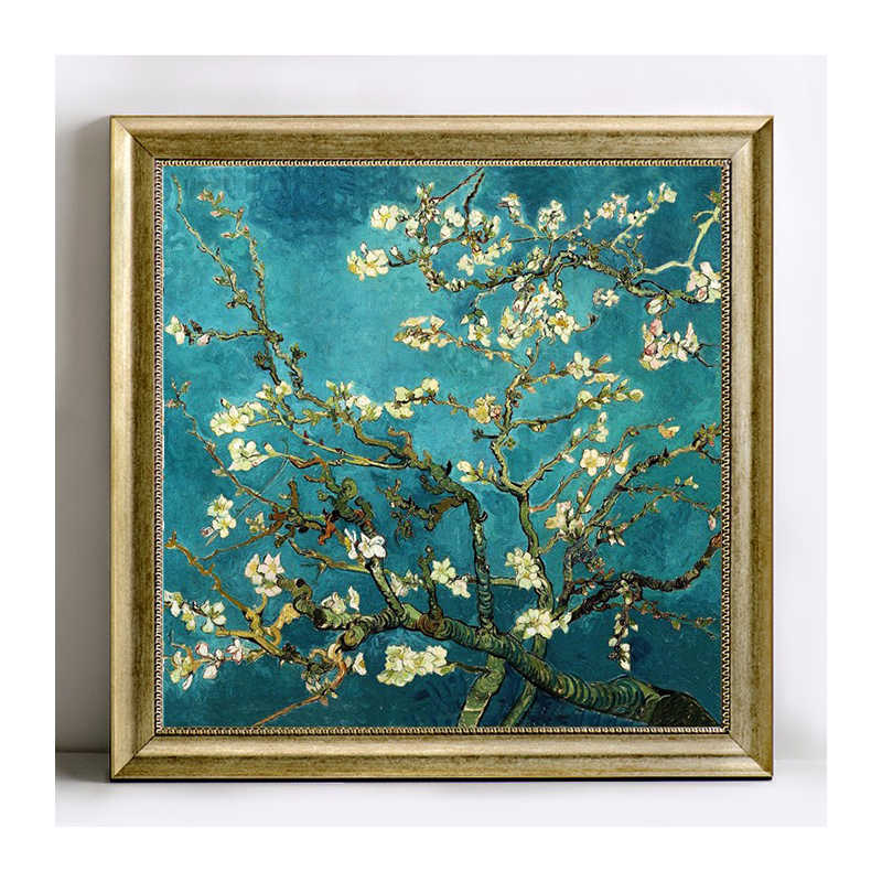 Full Diamond Embroidery World Famous Almond Blossom By Van Gogh Diy Diamond Painting A Craft Decorated Living Room A Good Gif XU