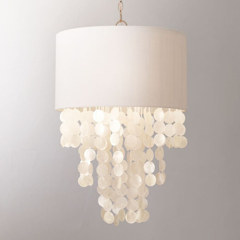 American Rural Mediterranean Sea Handmade Shell Linen Led E14 Pendant Light For Bedroom Dining Room Study Princess Room Dia 46cm 7a malaysian virgin hair with closure 4pcs malaysian body wave hair bundles with 1pc lace closure 4x4 part 100