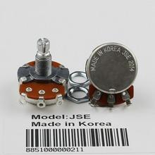 1Pcs JSE A500K/B500K Volume Tone Control Solid Shaft Pots Set Electronic Potential For Double-coil Electric Guitar/Bass