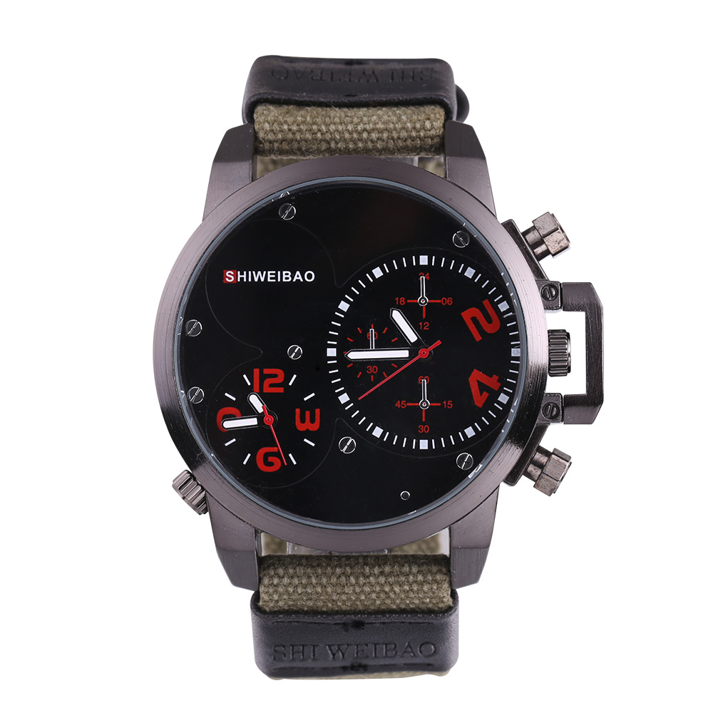Men's Big Watch Outdoors / Military Style