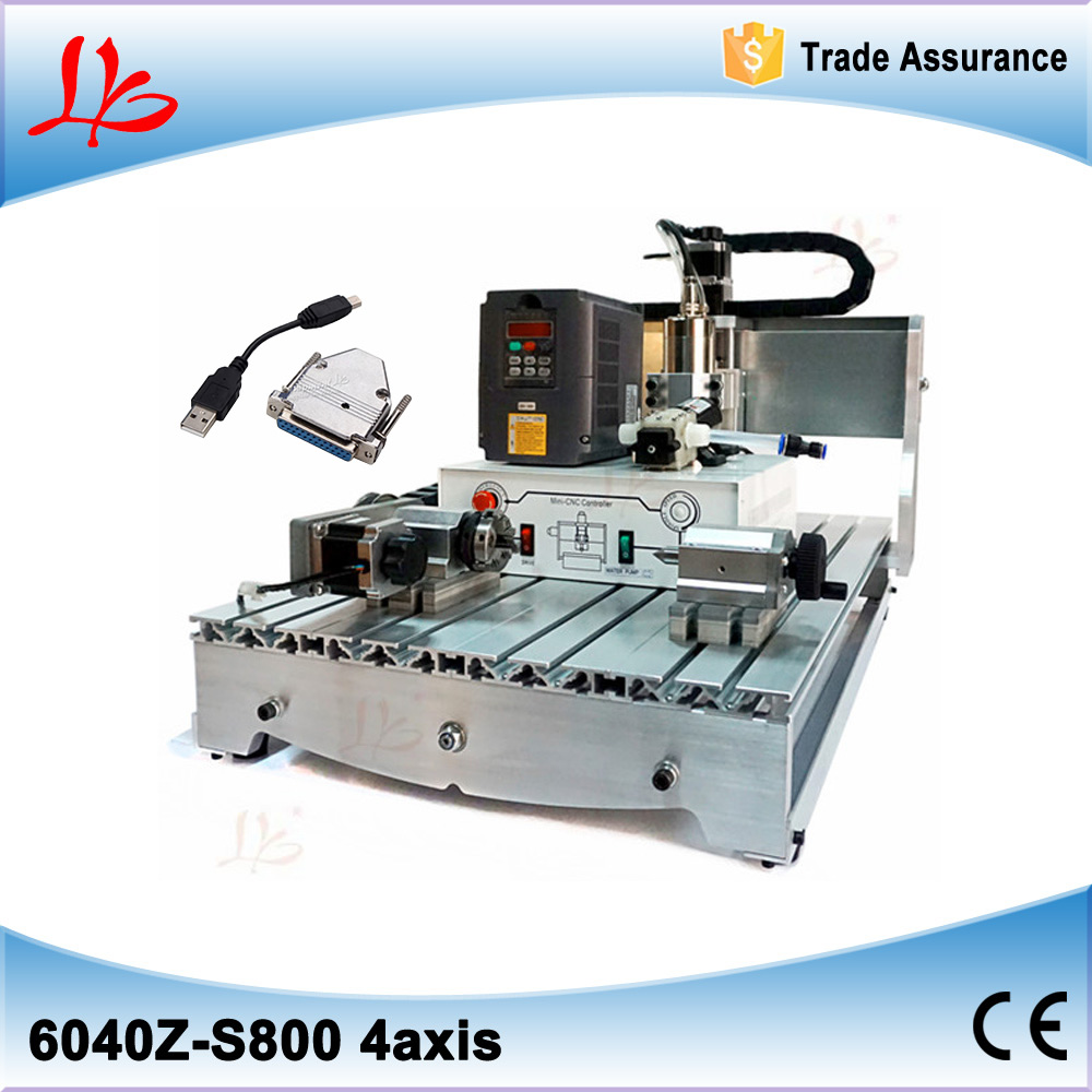 Russia Tax Free 4 Axis Cnc Router 6040 4060 Pcb Milling Machine With Wiring Diagram Controller 4060z Usb Port Adapter In Power Tool Accessories From Tools On Alibaba Group