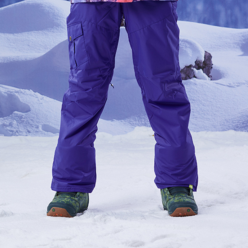 Pantalon de Ski femme GSOU SNOW Brand pantalon de Snowboard imperméable hiver Ski de plein air Snowboard pantalon de Sport femme vêtements de neige - 6