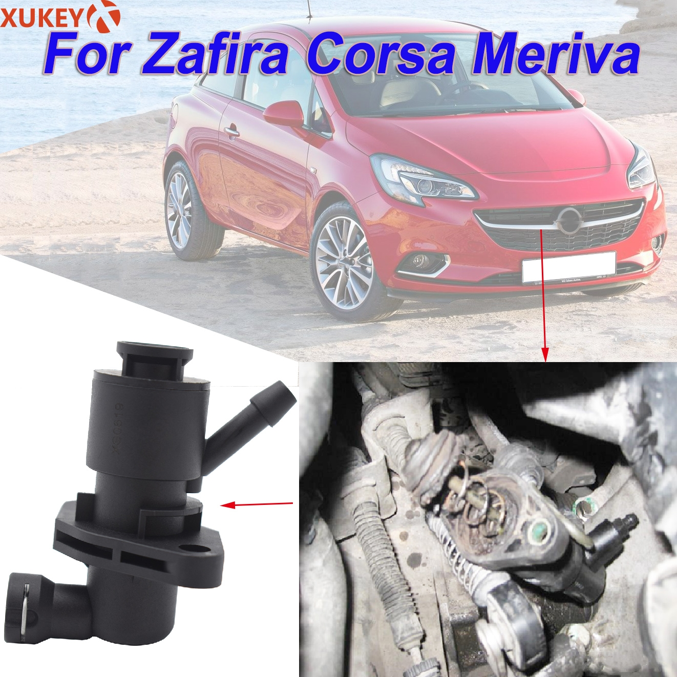 G1D500201 MTA Easytronic Clutch Master Cylinder Hydraulic Pump Controller For Opel/Vauxhall Zafira B Corsa C D Meriva A(China)