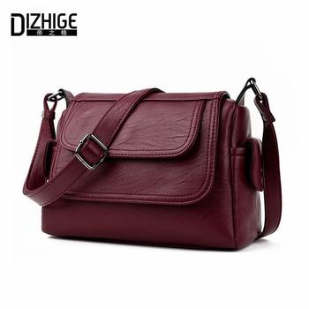 DIZHIGE Brand 2017 Spring Summer Fashion Crossbody Bags Single Shoulder Bags Ladies PU Leather Bags Women