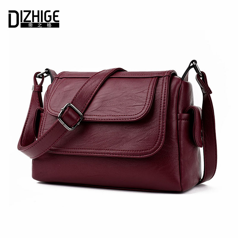 Dizhige marca 2017 primavera verano moda bolsos crossbody solo bolso de hombro b