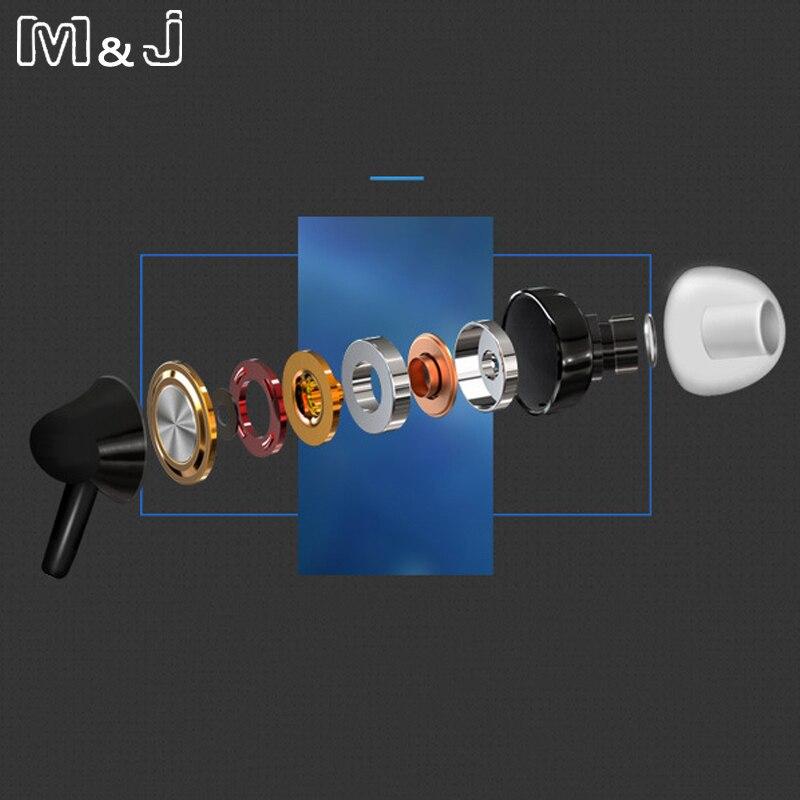 M&J Portable Mini Estéreo Bajo Auricular para iPhone 5 6 Samsung - Audio y video portátil - foto 5