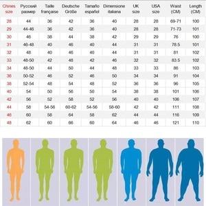 Image 2 - メンズレギュラーフィットジーンズ服プラス男性秋弾性ストレッチデニムストレート脚クラシックカウボーイパンツビッグサイズ 40 42 44 46 48