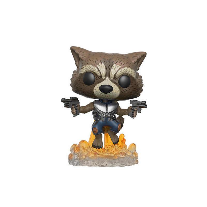 Funko pop film Marvel strażnicy galaktyki 2 Star-Lord rakieta grooted kolekcja pcv figurka zabawki dla dla dzieci prezent dla dzieci