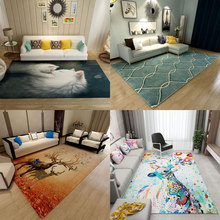 New Modern Abstract Soft Large Carpets For Living Room Carpet Bedroom Kid Room Study Room Area Rug Home Floor Door Mat Fashion yoosa fashion abstract delicate area rug soft large carpets for living room bedroom kids room rugs home carpet floor door mat