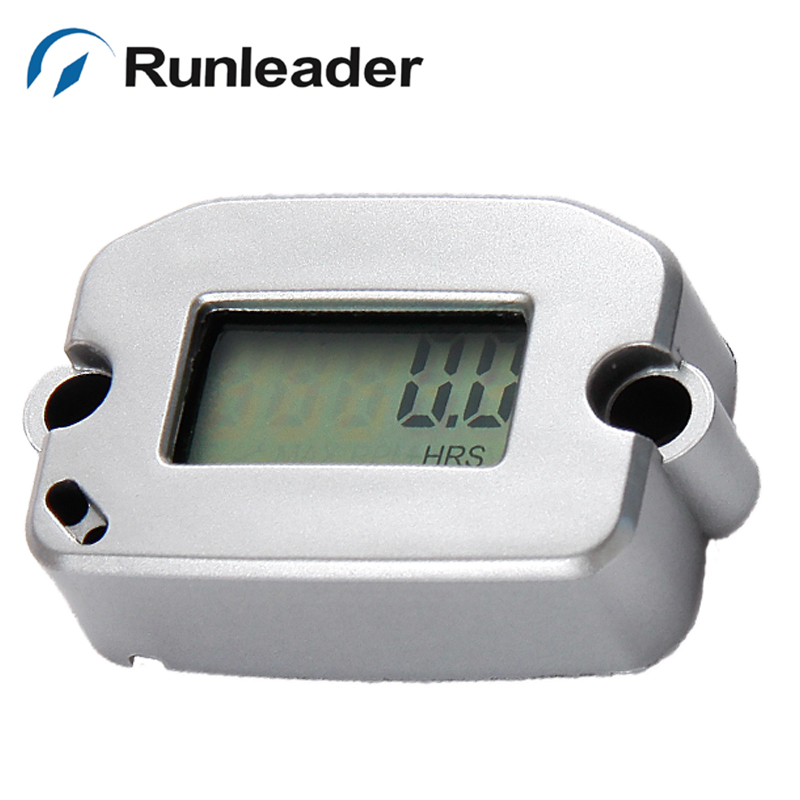 RL-HM022 (5 pçs lote) Digital LCD Indutivo Tach Hour Meter RPM Tacômetro  Usado Para Motor A Gasolina Da Motocicleta Jet Segadeira de Gramado de esqui c3742d44cb94f