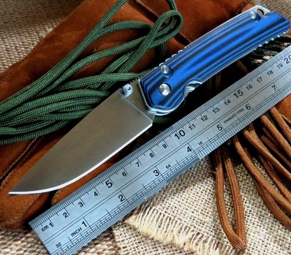 New Designed EDC Tool font b Knife b font D2 Steel blade Folding font b Knife