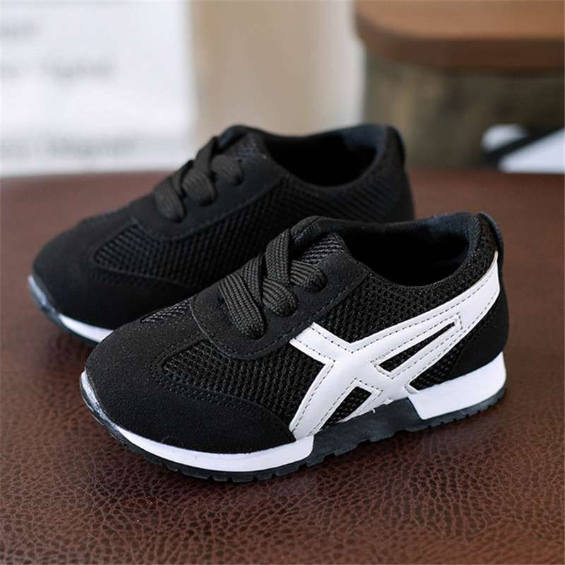 2017 Children Shoes Girls Boys Sport Shoes Antislip Soft Bottom Kids Baby Sneaker Casual Flat Sneakers Mesh Loafers Shoes forudesigns kids sport shoes boys girls for children walking cycling running nebula pringting lace up sneaker shoes outdoor
