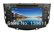 8 inch Car DVD player For Lifan X60 Car Video With GPS Car Entertainments BT HD Ipod RDS ATV USB/SD 4G SD MAP