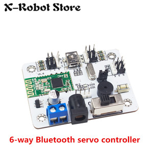Image 5 - 6 24 32 Channel Robot Servo Motor Control Board & PS2 Controller + Receiver for Hexapod manipulator Mechanical Arm Bipedal Robot