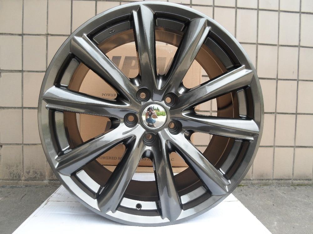 Колесные диски из сплава, 4 Новые 19x8,5/9,5 колесные диски для hyundai Ford Mustang W235