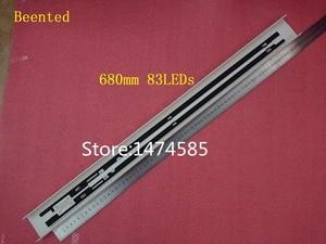 Image 2 - Tira de retroiluminación LED para Samsung UE55F8000, UN55F7100, UN55F7050, UN55F7450, UN55F7500, BN96 25447A, 25448A, BN96 29657A, 29658A, 2 uds.