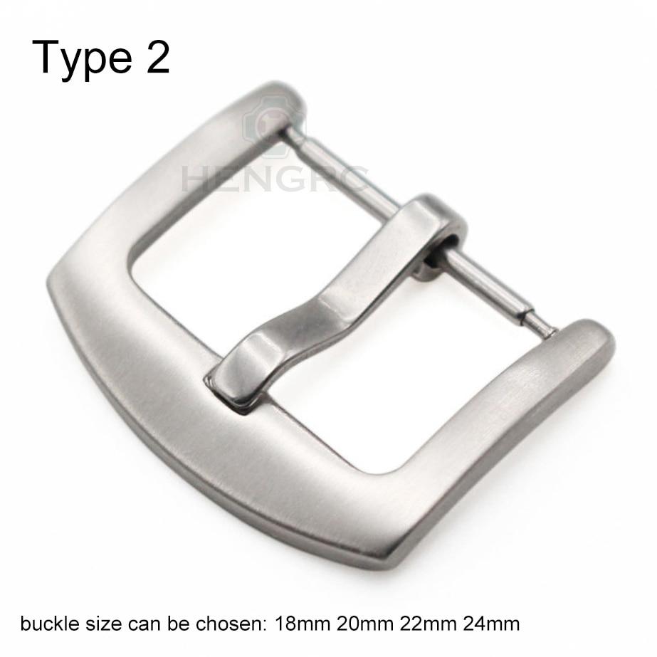 18 20 22 23 24mm metal spænde ur stropp bånd engros solid rustfrit - Tilbehør til ure - Foto 5