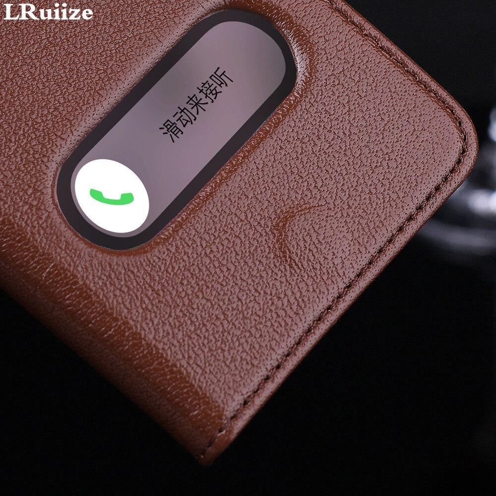 LRuiize iphone 6s 6 Plus Təbii Orijinal İnək Dəri Lüks Ultra - Cib telefonu aksesuarları və hissələri - Fotoqrafiya 4