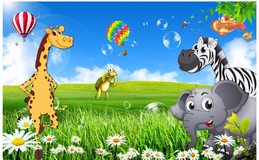 Download 96 Background Pemandangan Kartun Lucu HD Terbaik