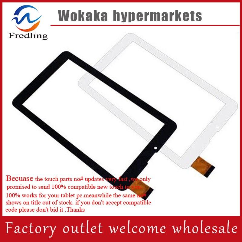 GLASS FILM New Touch Screen Panel Glass Sensor Digitizer Glass for 7 teXet TM-7059 3G / Texet TM-7876 Tablet Free Shipping