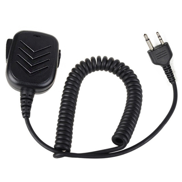 2 Pin Security Speaker Mic PTT for Midland Ham Radio GXT1000 GXT1050 ...