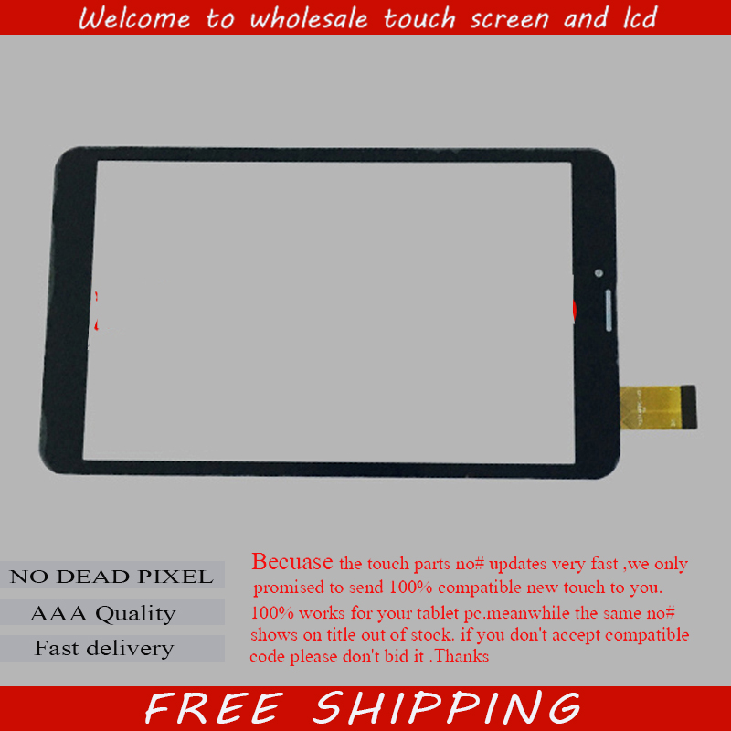New For 8 Irbis TZ861 TZ862 TZ864 Tablet Capacitive touch screen Touch panel Digitizer Glass Sensor Replacement Free Shipping new capacitive touch screen panel digitizer glass sensor replacement for 8 qumo vega 8009w tablet free shipping