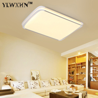 2018 Lustres De Sala Plate Led Ceiling Light 2 4g Rf Remote Group Controlled Dimmable Colorful