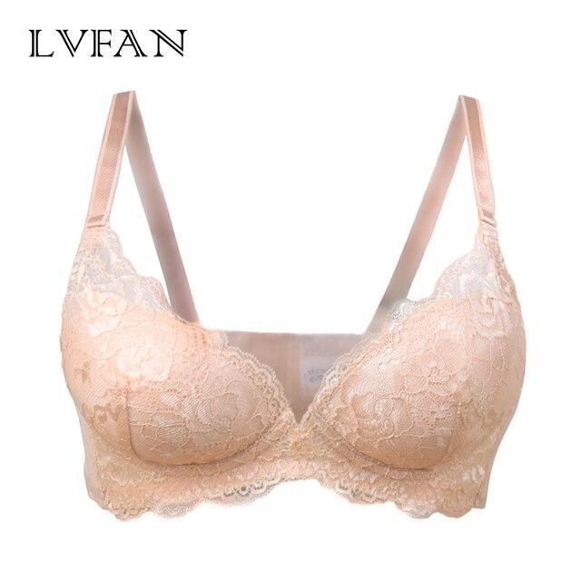 high end silk lace bra super thin size  sexy underwear LVFAN TGB 038