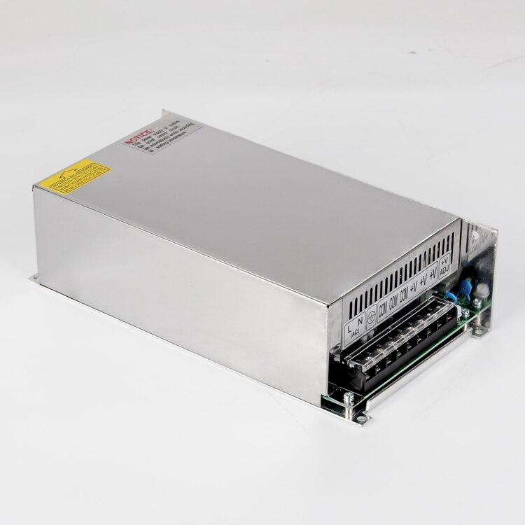 S-500w 12 v 40 ampères alimentation unique sortie 5 v 12 v 15 v 24 v 36 v 48 v 500 w 40a dc smps commutateur de courant LED - 2