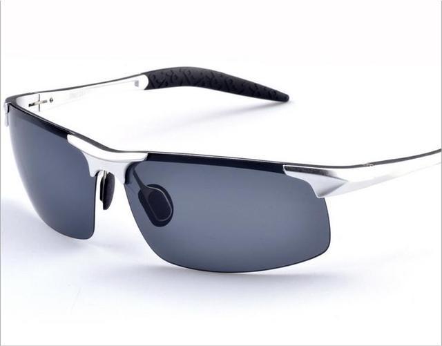Oculos gafas de Sol Para Hombre Deporte gafas de Sol Polarizadas de Conducción Gafas De Aluminio cajas del teléfono Accesorios Para Hombres gafas de sol feminino