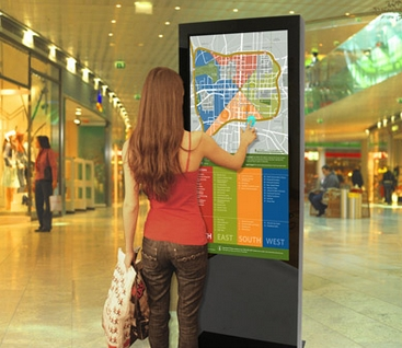 32''42''47''55''65inch Indoor Kiosk Lcd Advertising Digital Signage Display Totem PC Built In Mall Map Floor Guide PC