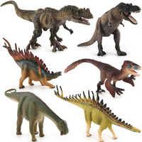 Jurassic Welt Park Dinosaurier Spielzeug Modell Utahraptor Ceratosaurus Tyrannosaurus Nigersaurus Handwerk PVC Action Figure Dinosaurier Geschenk
