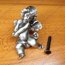 New classical European contracted fashion style cupboard door drawer knobs ancient silver furniture handle/personality pulls