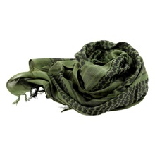 2019 Outdoor Hiking Military Shemagh Scarf Tactical Desert Arab Keffiyeh Scarf Arabic Cotton Paintball Camouflage Head Scarf